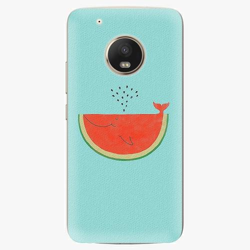 Plastový kryt iSaprio - Melon - Lenovo Moto G5 Plus