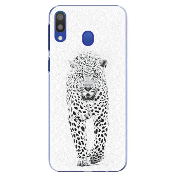 Plastové pouzdro iSaprio - White Jaguar - Samsung Galaxy M20