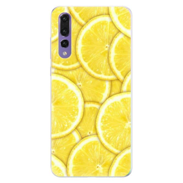 Silikonové pouzdro iSaprio - Yellow - Huawei P20 Pro