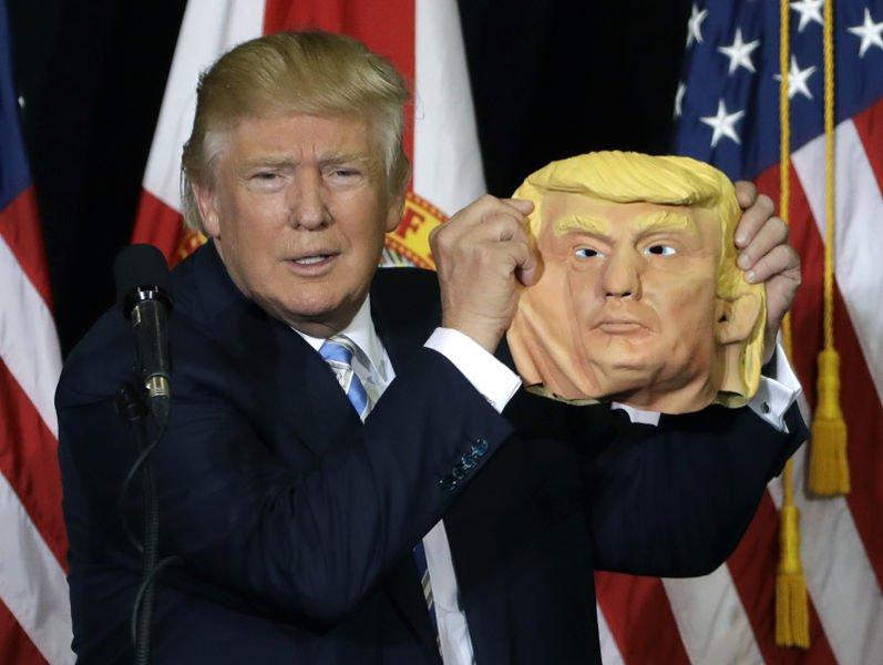 Maska Donald Trump