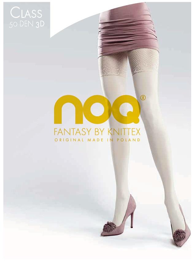 Punčochové kalhoty Knittex Noa Class 3D 50 den - Černá/2-S