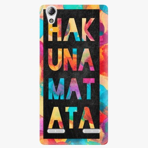 Plastový kryt iSaprio - Hakuna Matata 01 - Lenovo A6000 / K3