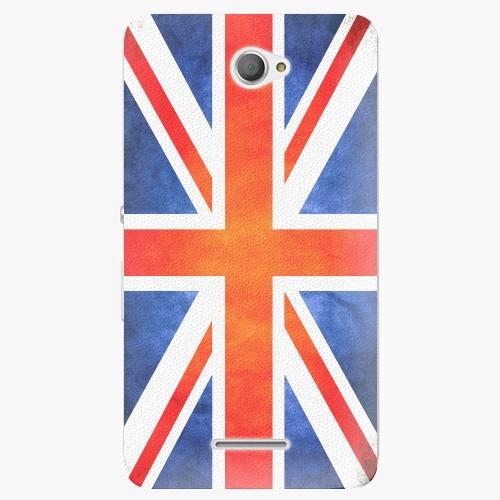 Plastový kryt iSaprio - UK Flag - Sony Xperia E4
