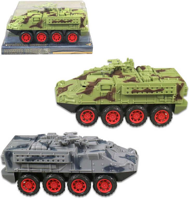 Tank plastový 19 cm na baterie - 2 barvy