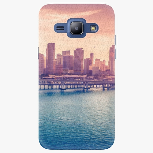 Plastový kryt iSaprio - Morning in a City - Samsung Galaxy J1