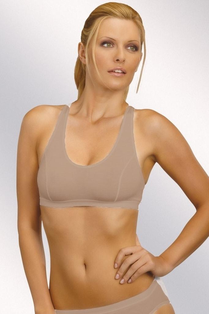 Fitness top ELDAR Sierra beige