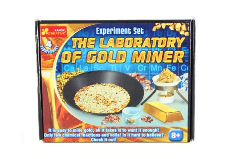 Zajímavé experimenty se zlatokopy