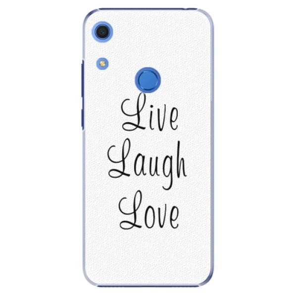 Plastové pouzdro iSaprio - Live Laugh Love - Huawei Y6s