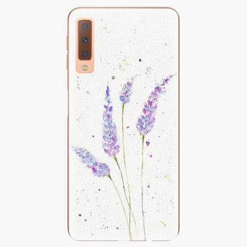 Plastový kryt iSaprio - Lavender - Samsung Galaxy A7 (2018)