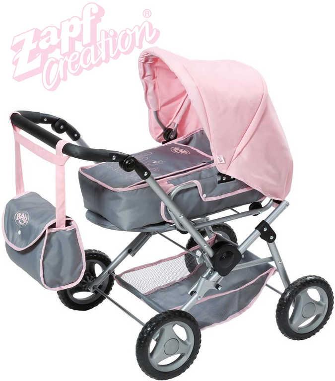 ZAPF BABY BORN Kočárek hluboký Deluxe 3v1 trojkombinace pro panenku miminko