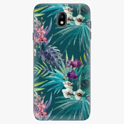 Plastový kryt iSaprio - Tropical Blue 01 - Samsung Galaxy J7 2017