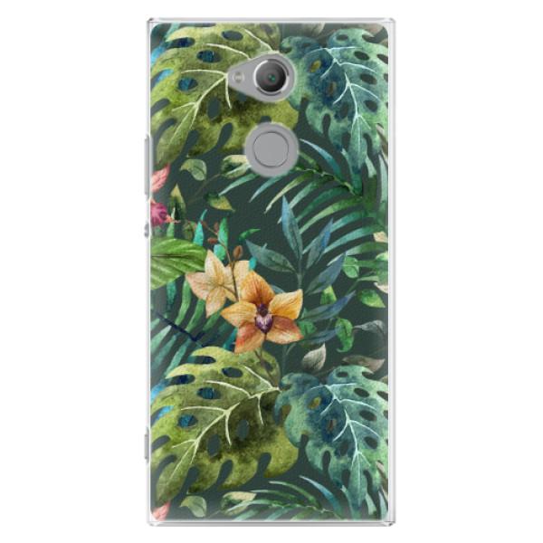 Plastové pouzdro iSaprio - Tropical Green 02 - Sony Xperia XA2 Ultra