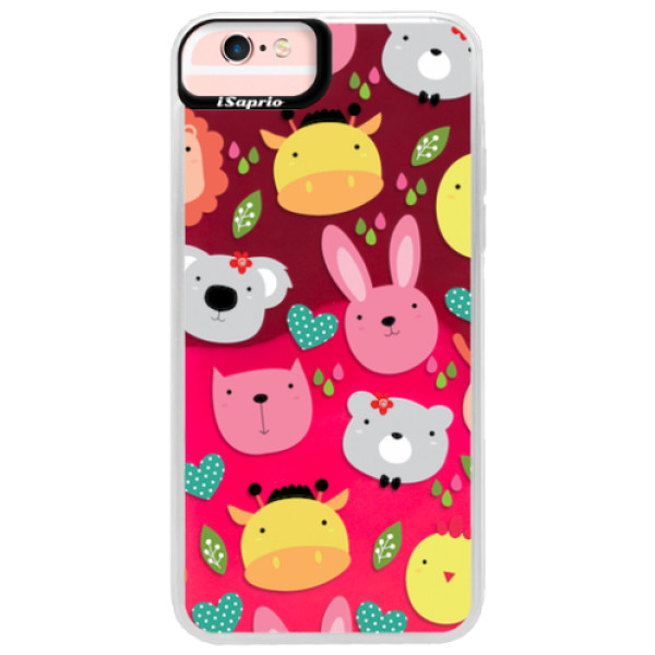 Neonové pouzdro Pink iSaprio - Animals 01 - iPhone 6 Plus/6S Plus