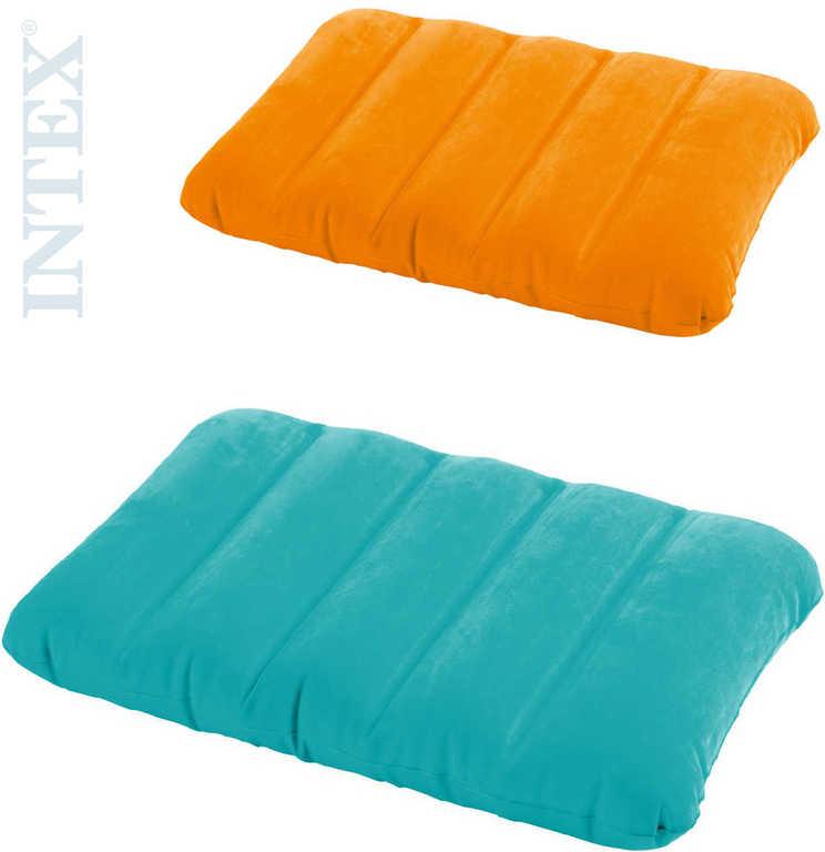 INTEX Polštář nafukovací relaxační 3 barvy 68676