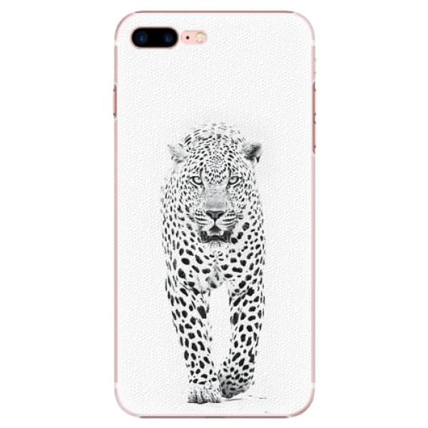 Plastové pouzdro iSaprio - White Jaguar - iPhone 7 Plus