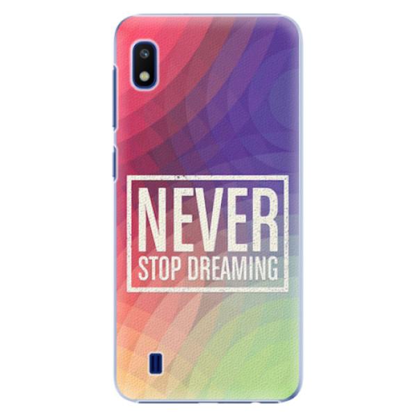 Plastové pouzdro iSaprio - Dreaming - Samsung Galaxy A10