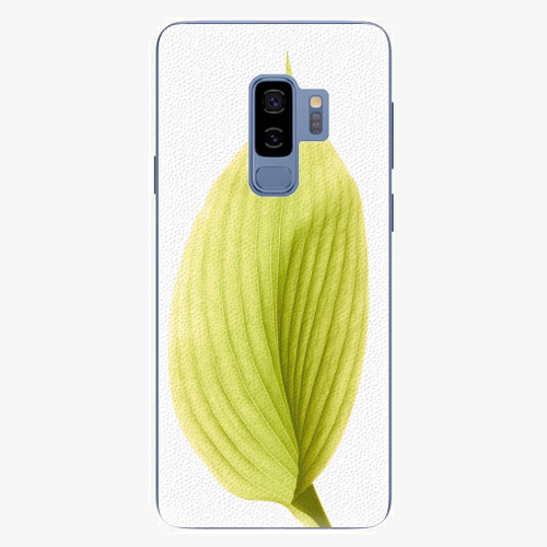 Plastový kryt iSaprio - Green Leaf - Samsung Galaxy S9 Plus