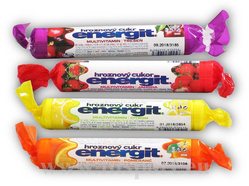 Energit hroznový cukr multivitamin 17