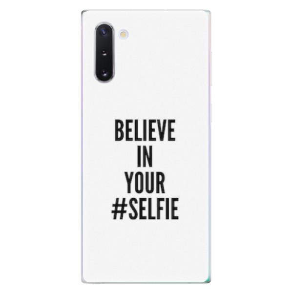 Odolné silikonové pouzdro iSaprio - Selfie - Samsung Galaxy Note 10