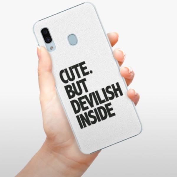 Plastové pouzdro iSaprio - Devilish inside - Samsung Galaxy A30