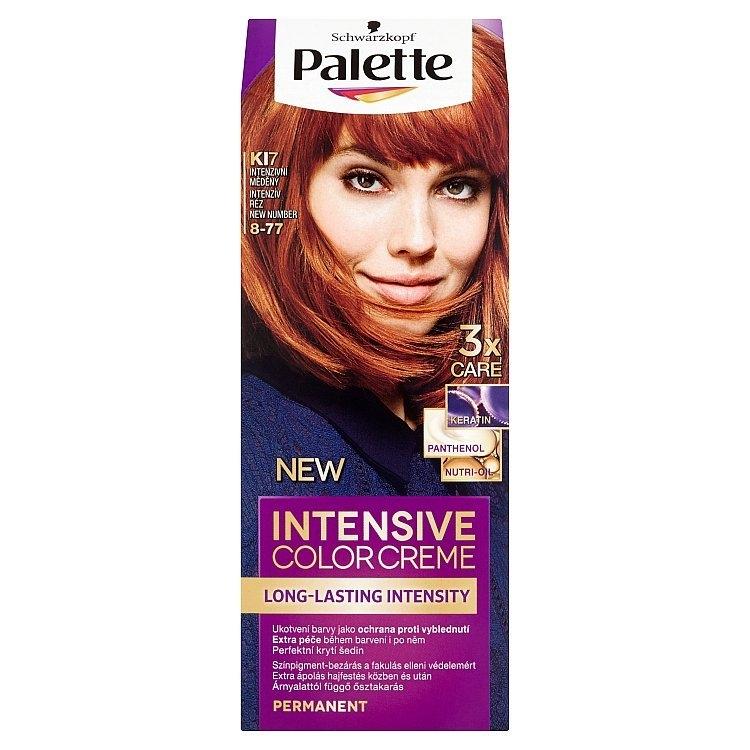 Schwarzkopf Intensive Color Creme barva na vlasy Intenzivní měděný KI7 (8-77)