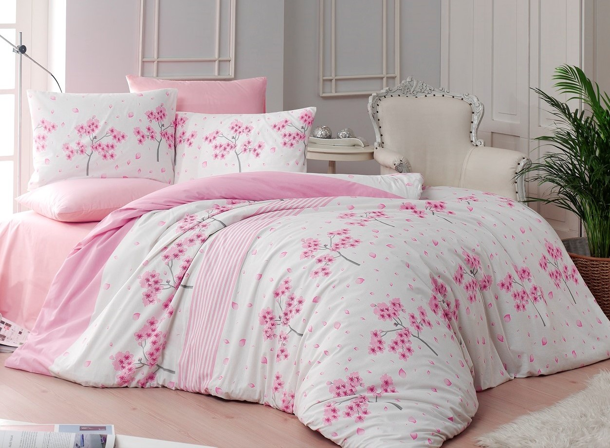 Prodloužené povlečení bavlna 140x220, 70x90cm Viola pink, Výběr zapínání: