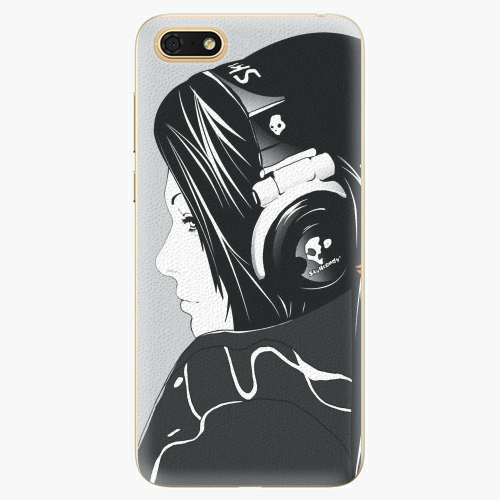 Silikonové pouzdro iSaprio - Headphones - Huawei Honor 7S