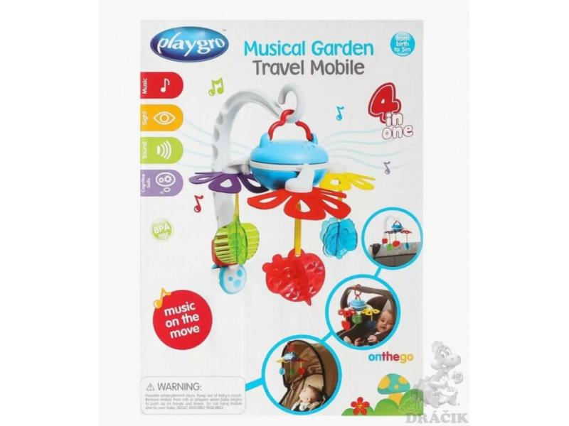 Playgro - Cestovní kolotoč s hudbou