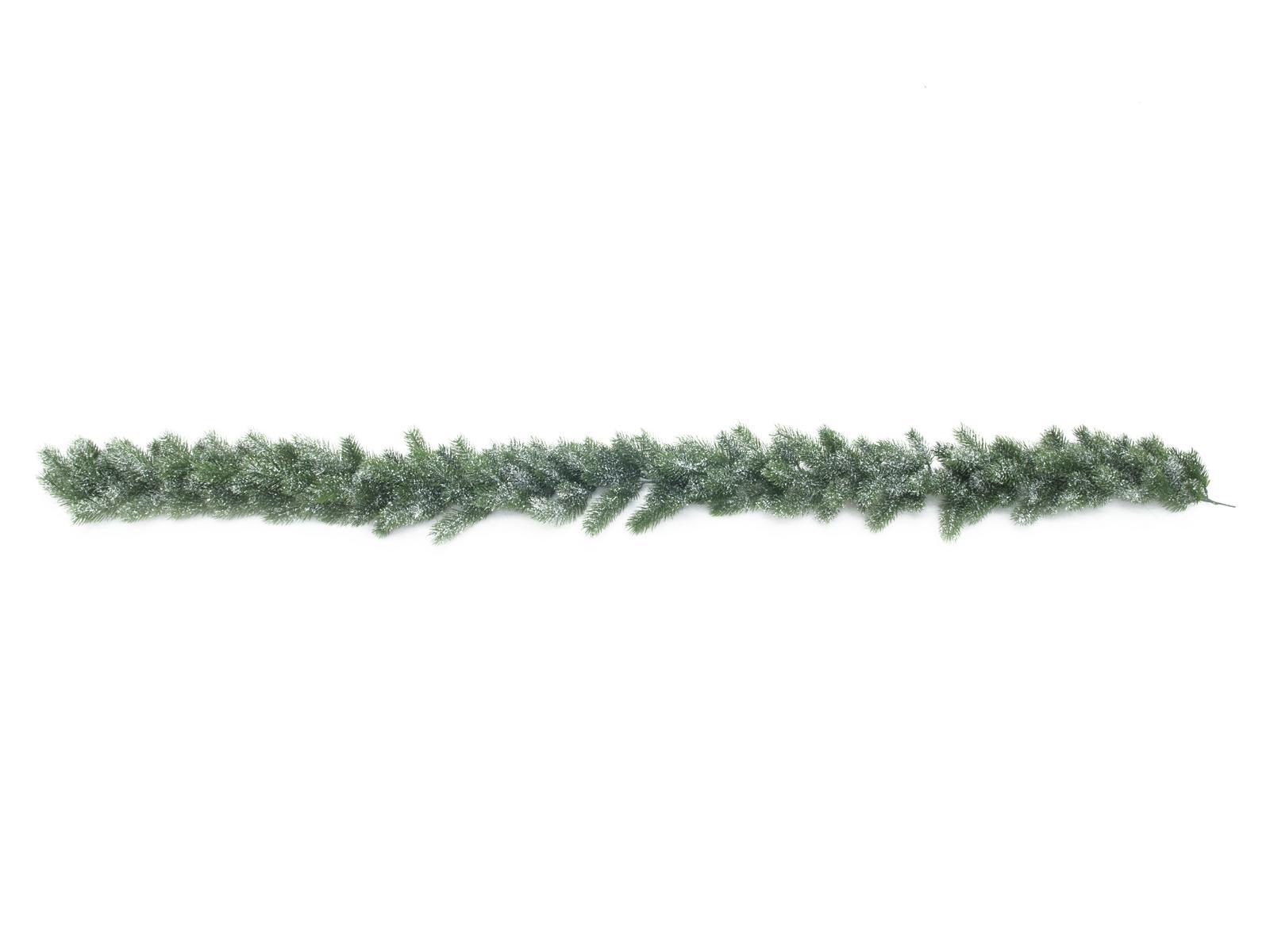 Jedlová girlanda zasněžená, 180 cm
