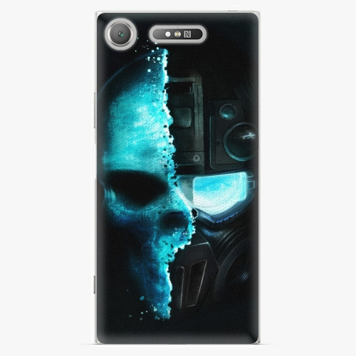 Plastový kryt iSaprio - Roboskull - Sony Xperia XZ1