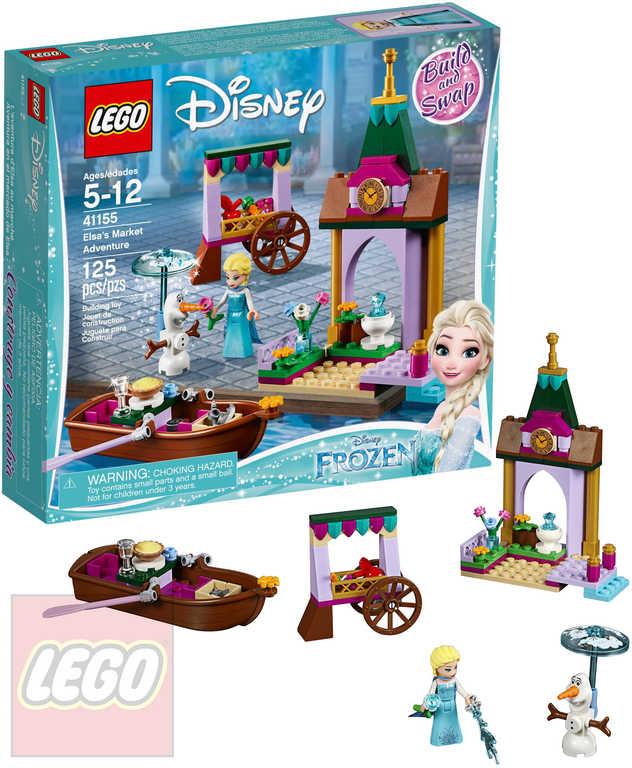 LEGO PRINCESS Elsa a dobrodružství na trhu Frozen 41155