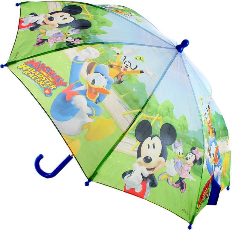 Deštník dětský Disney Mickey Mouse a kamarádi manuální otevírání