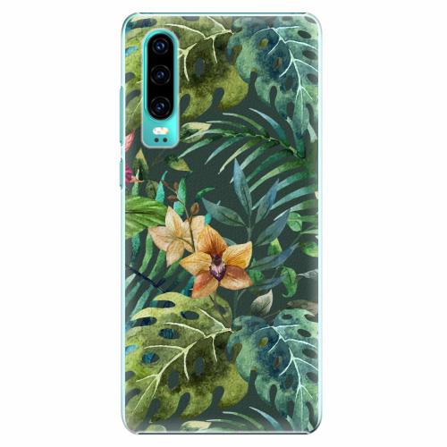 Plastový kryt iSaprio - Tropical Green 02 - Huawei P30