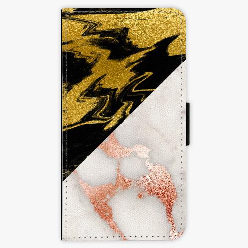 Flipové pouzdro iSaprio - Shining Marble - Huawei Nova