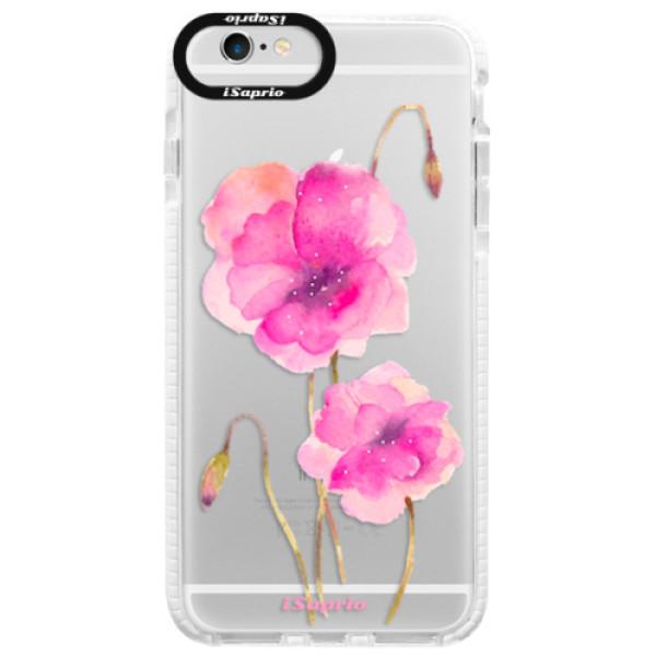 Silikonové pouzdro Bumper iSaprio - Poppies 02 - iPhone 6 Plus/6S Plus