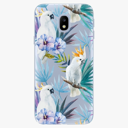 Plastový kryt iSaprio - Parrot Pattern 01 - Samsung Galaxy J3 2017