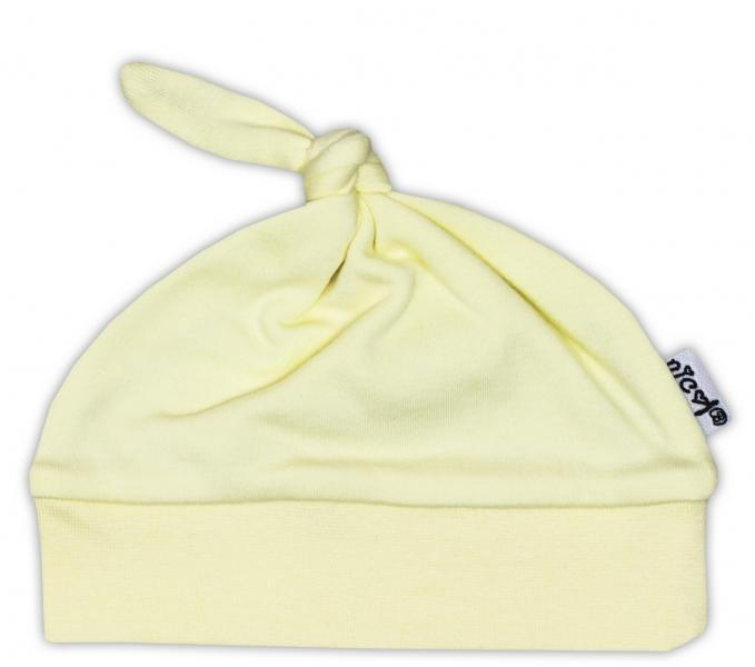 Čepička NICOL - žlutá