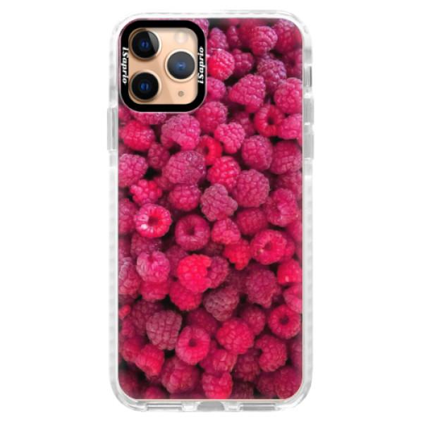Silikonové pouzdro Bumper iSaprio - Raspberry - iPhone 11 Pro