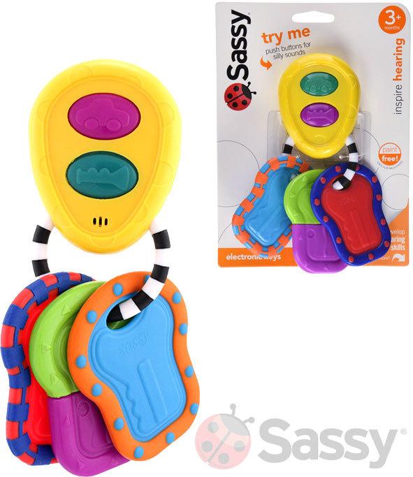 SASSY Klíče elektronické pro miminko