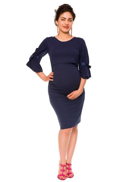 Elegantní těhotenské a kojící šaty Barbara