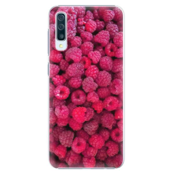 Plastové pouzdro iSaprio - Raspberry - Samsung Galaxy A50