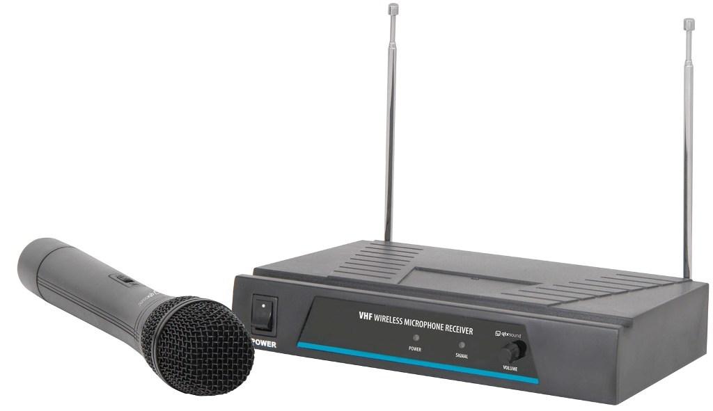 QTX VH1, 1-kanálový bezdrátový mikrofonní set 173,8 MHz