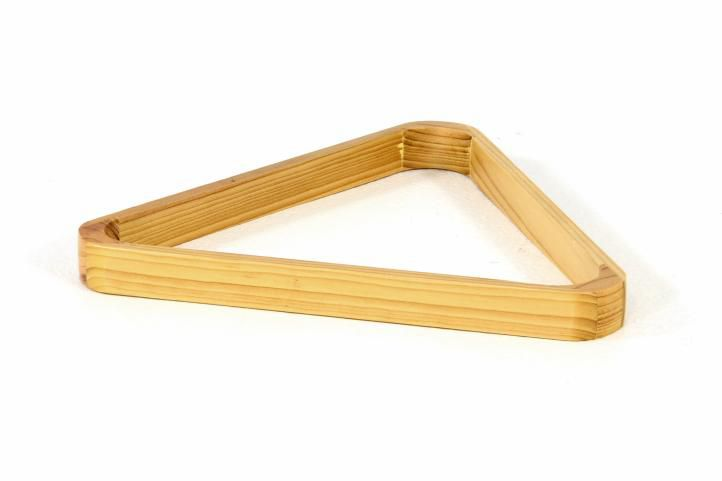 Trojúhelník dřevěný světlý 57,2 mm