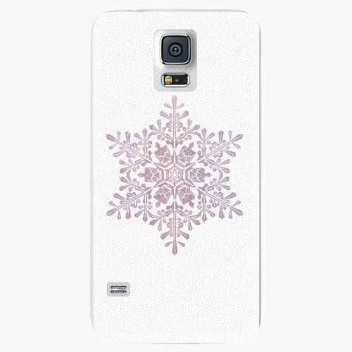 Plastový kryt iSaprio - Snow Flake - Samsung Galaxy S5