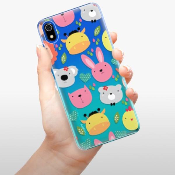 Plastové pouzdro iSaprio - Animals 01 - Xiaomi Redmi 7A