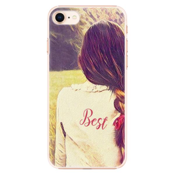 Plastové pouzdro iSaprio - BF Best - iPhone 8
