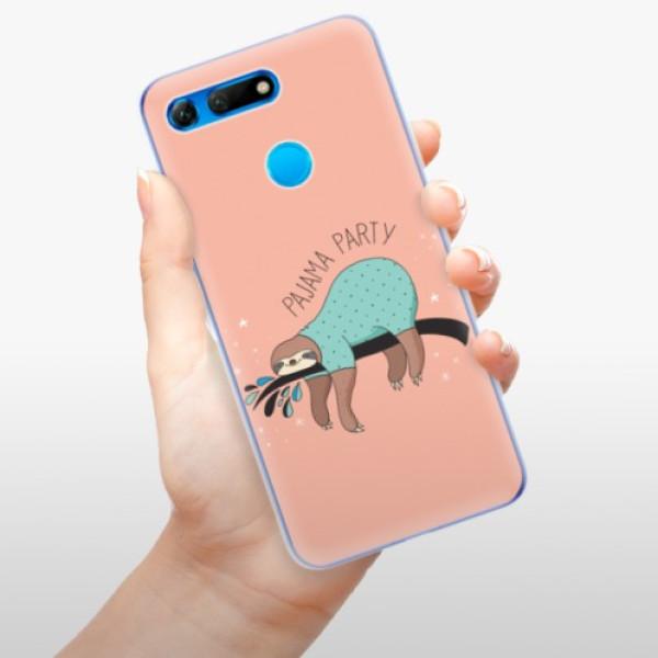 Odolné silikonové pouzdro iSaprio - Pajama Party - Huawei Honor View 20