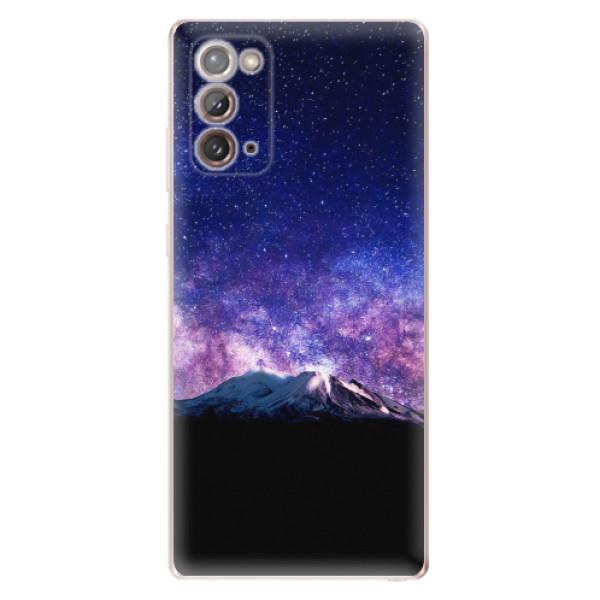 Odolné silikonové pouzdro iSaprio - Milky Way - Samsung Galaxy Note 20