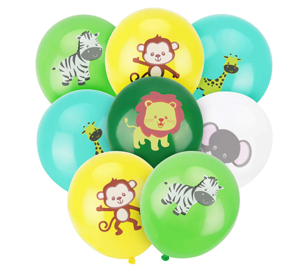 Balónky - Safari