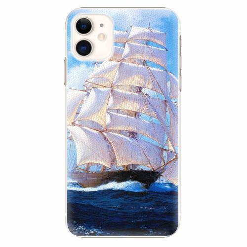 Plastový kryt iSaprio - Sailing Boat - iPhone 11